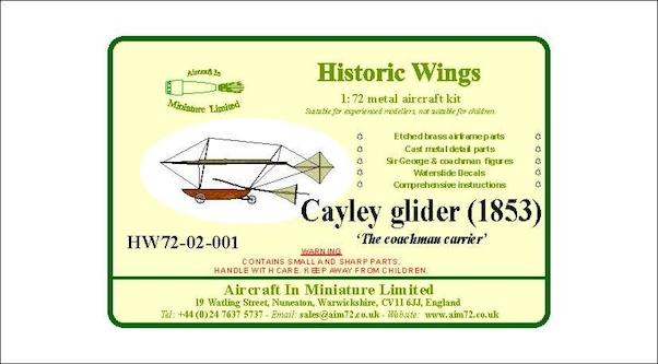 Swell Cayley Glider 1853 The Coachman Carrier End Of Line Sale Wiring Digital Resources Remcakbiperorg