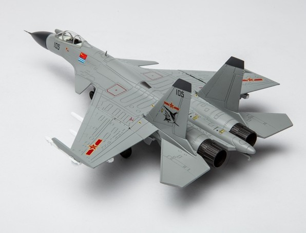 J-15 fighter jet model Chinese Air Force